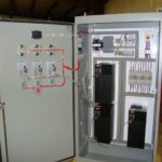 Triplex VFD Panel